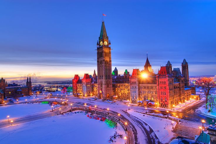 The parliament buildings in our capital city Ottawa, Canada.