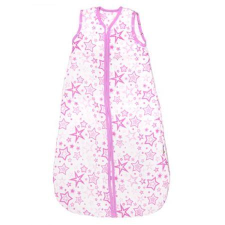 Спальный мешок GlorYes! (9 мес.-2,5 г.) Розовые звезды  — 1599р.  <p>Обеспечьте спокойный и безопасный сон вашему малышу с 9 месяцев до 2,5 лет с помощью спального мешка из<strong> нежного муслина</strong>. Теплый и уютный, он не препятствует естественным движениям малыша, создает комфортную среду для сна</p>  <p><strong>Безопасный сон</strong>: мешок вместо одеяла, в котором малыш может запутаться и перегреться. Больше не нужно вставать и проверять, не раскрылся ли малыш</p…