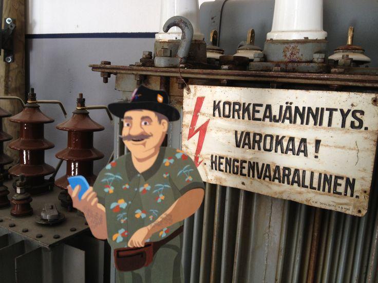 Jyllinkosken sähkölaitosmuseo.