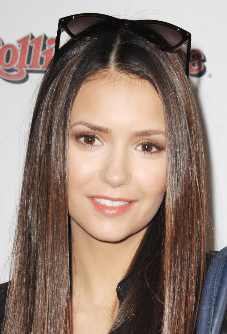 Nina Dobrev - shiny hair
