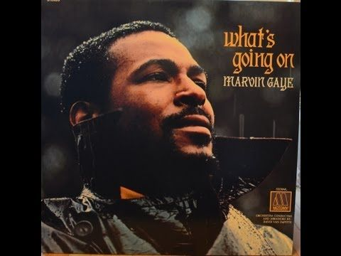 Marvin Gaye What's Going On Full album vinyl LP (Original Mix)