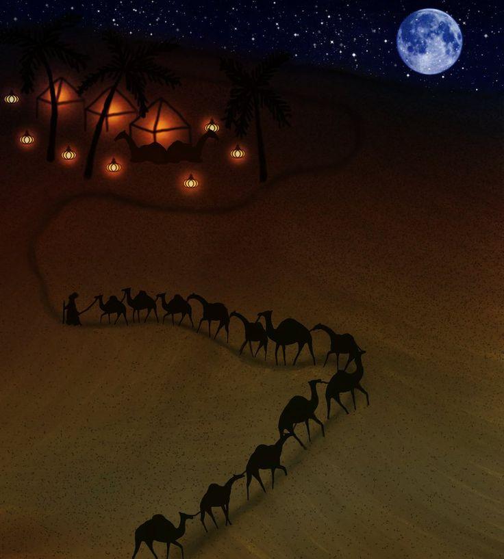 Desert ( 100 landscapes challenge 7./100 ) by KatjaLammi