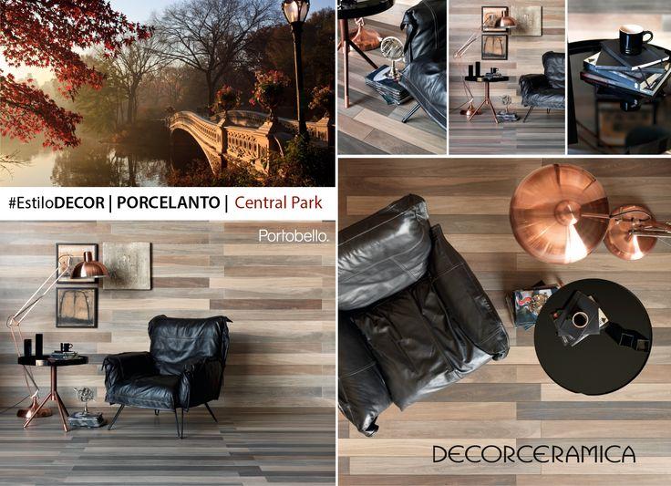 """Esto es tendencia: Especial estilo madera con diseño brasilero La corriente naturalista predomina en la arquitectura y el interiorismo modernos, porque como dice la experta en moda Pilar Castaño, """"esta tendencia nos acerca a nuestro orígenes y nos saca del caos cotidiano"""". En ese sentido, los diseñadores de la marca PORTOBELLO se inspiraron en la vegetación del Central Park de Nueva York, para dar vida a este piso en porcelanato que lleva el realismo del efecto madera a una dimensión…"""