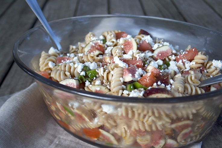 LUNCH: A Sweet and Savory, Einkorn Pasta Salad