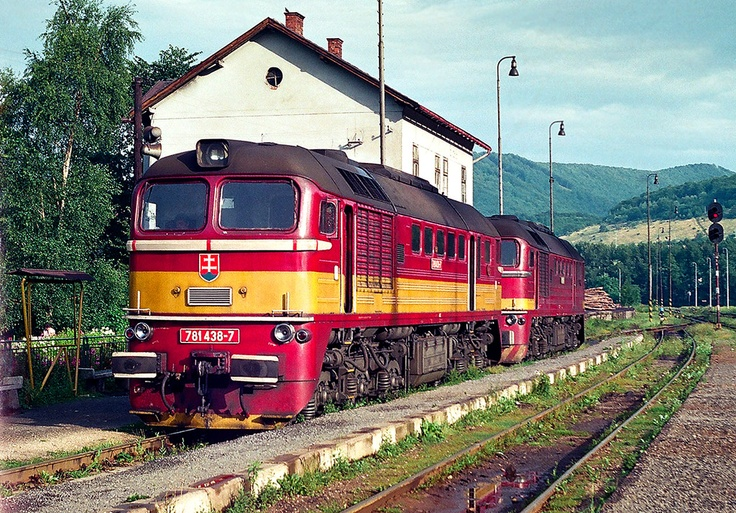 "Diesel lokomotiv T679 1502 - ČSD ""Sergej"""