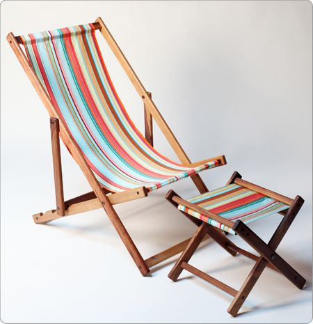 Foldable Beach Chair. Deck ChairsGarden ...