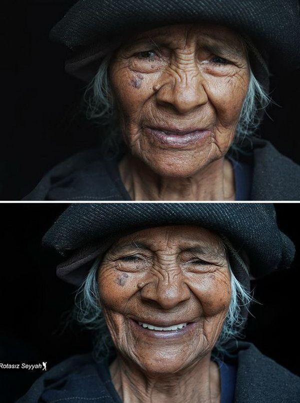 """Як змінюється обличчя жінки від слів """"ти красива"""" - фото 1"""