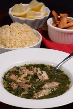 Egypt Molokhia (Jute leaf soup) - International Cuisine
