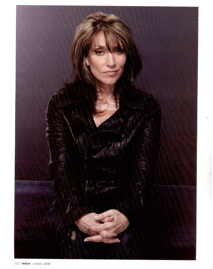 Katey Sagal!  Smokin' hot at 57! I want to be like her when I grow up.