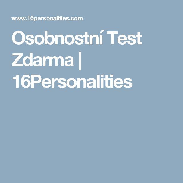 Osobnostní Test Zdarma | 16Personalities