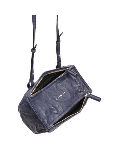 dd76c07276 Lyst - Givenchy Mini Pepe Pandora Messenger in Gray | in ♥ | Bags ...