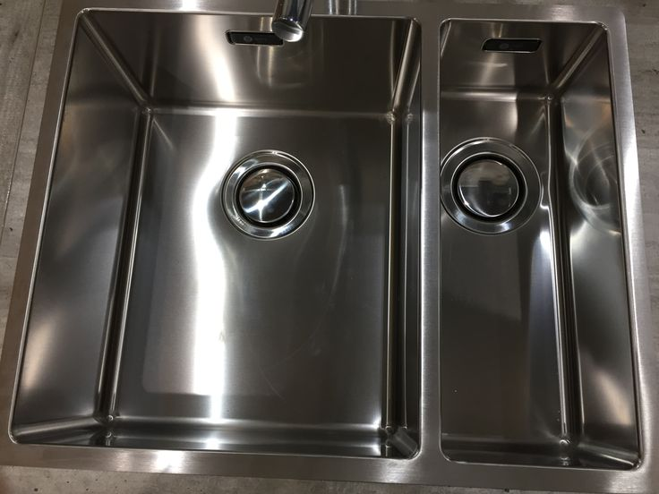 Carron Phoenix Deca 150 inset sink at Newhaven Kitchens