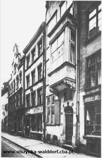 Ulica Klesza przed wojną