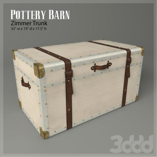 Сундук Zimmer Trunk (Pottery Barn)
