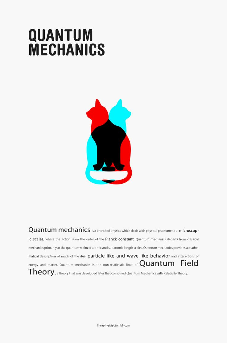 Quantum Mechanics Posters like this would have been a fun way to decorate an academic hall/floor! Too bad mine weren't haha