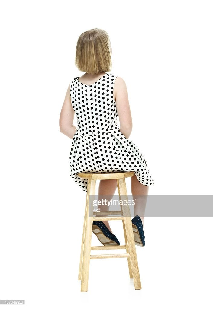 Girl Back People Png People Sitting Png People Cutout