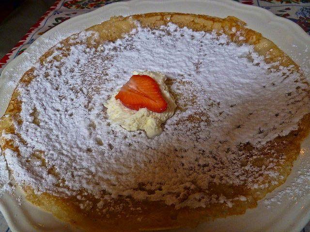 The Upstairs Pancake House (Upstairs Pannenkoeken) - Dutch pancakes as seen on Bourdain's The Layover show