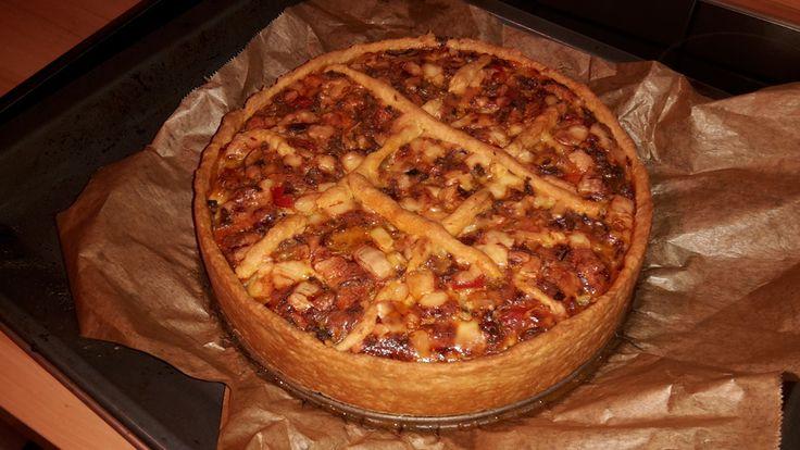 Hackfleisch - Schmand - Torte, ein gutes Rezept aus der Kategorie Schwein. Bewertungen: 75. Durchschnitt: Ø 4,3.