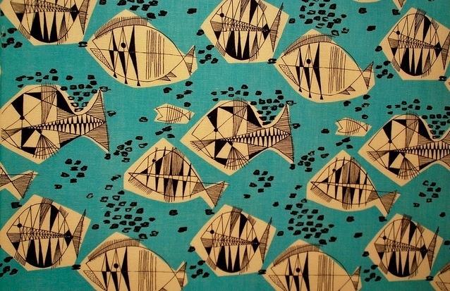 """Alicja Wyszogrodzka  """"Ryby"""", 1958"""