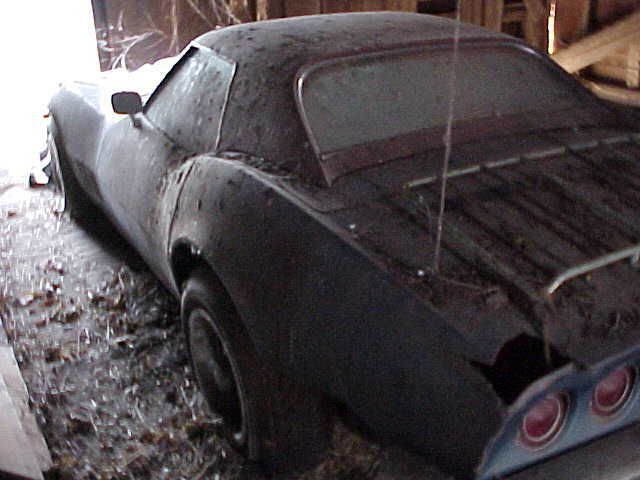 Barn Find 1968 Corvette Convertible