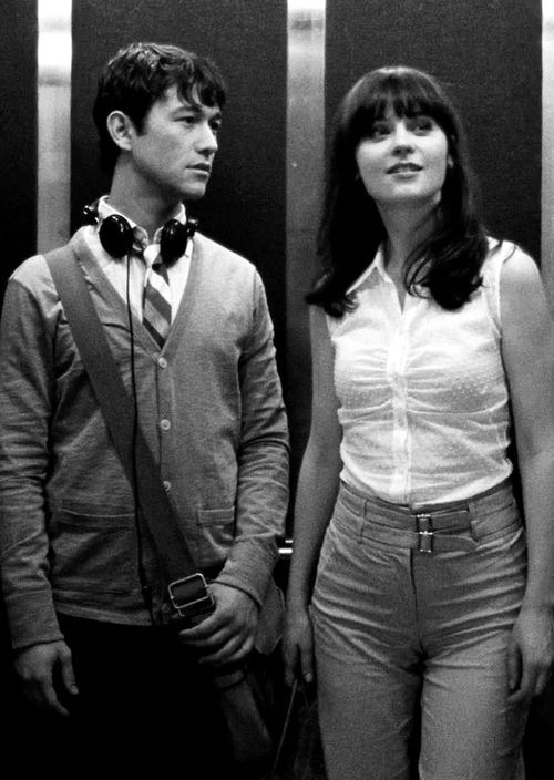 "(500) Days of Summer ""I love the smiths"" ""what?"" ""you're music... 'To die by your side is such a heavenly way to die.'"""