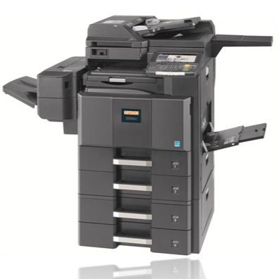 UTAX Color machine 2550ci: The new MFP color system UTAX 2550ci provides high quality A4/A3 colour output and maximum flexibility for workgroups and small offices, whether printing, copying, scanning or faxing. All the functions you need are packed into a compact, reliable and user friendly device – and easily accessible via a large colour touch panel. So no matter how your workflows are organized, you can be more productive with the UTAX 2550ci.