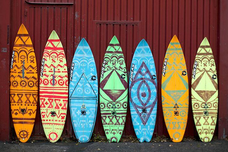 Pukas Surf Surfboards Dream Quiver at Olatu