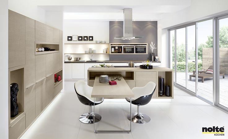 Prachtige moderne keuken van Bauformat Onze eigen keukens - nolte küche planen