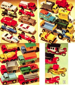 Where are Hot Wheels and Matchbox cars manufactured?