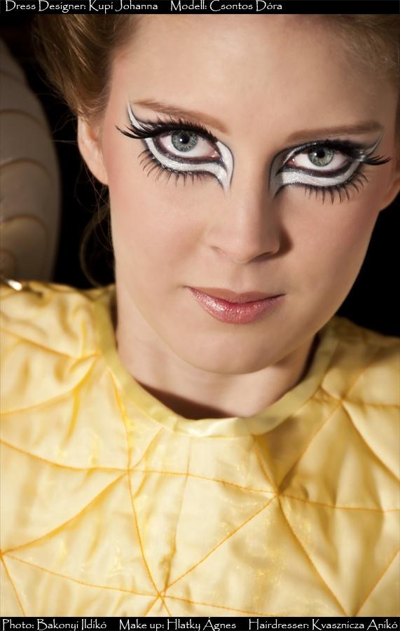 Makeup: Agnes Hlatky,  Modell: Dora Csontos,  Photo: Ildiko Bakonyi