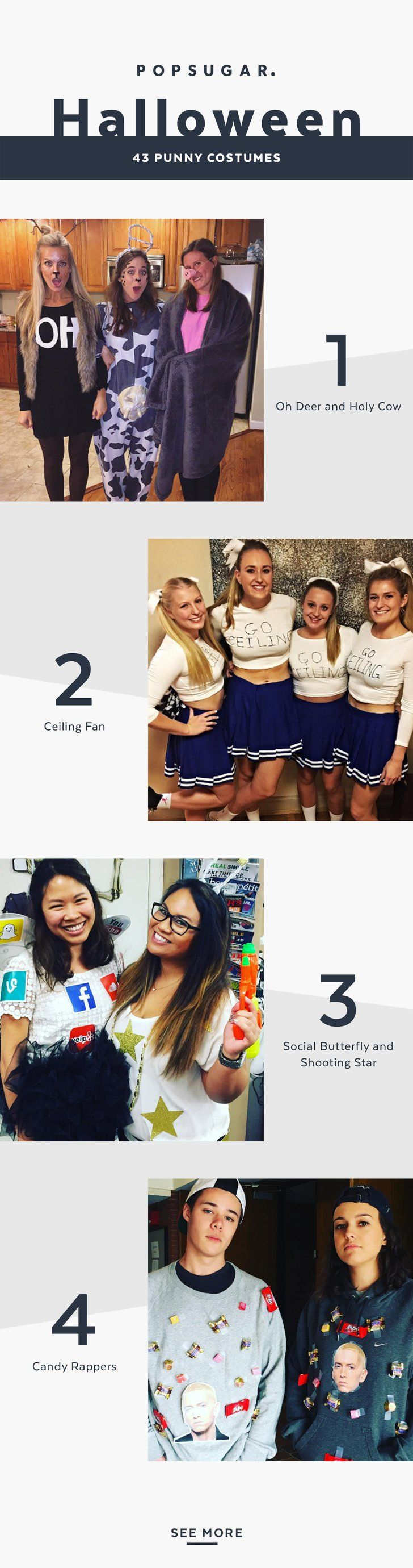 """Pin for Later: 43 """"Punny"""" Halloween Costumes That Won't Break the Bank"""