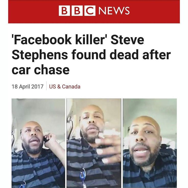 Steve Stephens the so-called Facebook killer who sparked a multi-state manhunt after he brazenly gunned down a Cleveland man at random killed himself Tuesday morning in Erie County as cops closed in Pennsylvania State Police said on Facebook.  #staytalkingishpodcast #facebook #facebooklive #news #cleveland