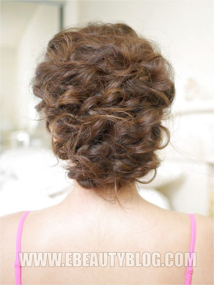 EbeautyBlog.com: Easy Messy Updo Hair Tutorial #ShortFineHair If you liked this …