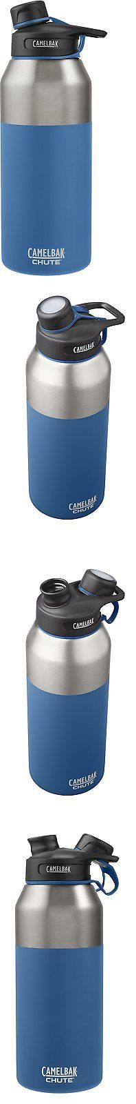 Drink Containers and Thermoses 177006: Camelbak Chute Vacuum Insulated Stainless Water Bottle, 40 Oz, Pacific -> BUY IT NOW ONLY: $34.23 on eBay!