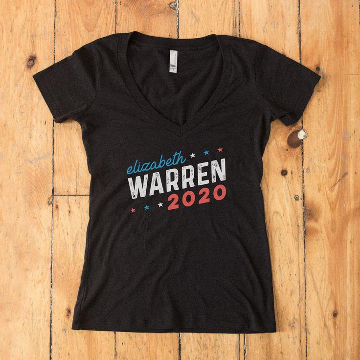 Elizabeth Warren for President 2020 Women's V-Neck T-shirt