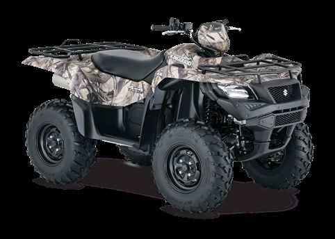 New 2016 Suzuki KingQuad 750AXi Camo ATVs For Sale in Wisconsin. Three decades of ATV manufacturing experience has led to the KingQuad 750 AXi Camo, Suzuki's most powerful and technologically advanced ATV. Abundant torque developed by the 722 cc fuel-injected engine gives the KingQuad the get up and go that's a must-have for Utility Sport ATVs. With an independent rear suspension, locking front differential, and a handful of other features, the KingQuad 750 AXi Camo comes loaded with all the…