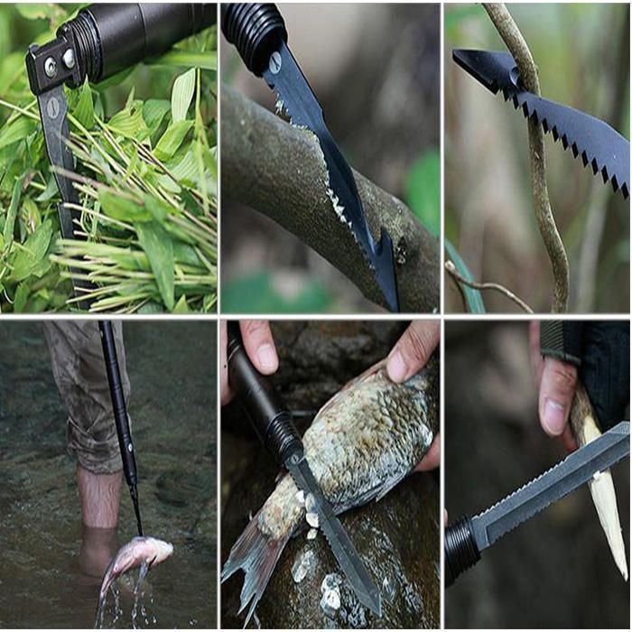 IPRee® Camping DIY Self Defense Stick Multi-Function Emergency Safety Protection Rod Survival Tool Sale - Banggood.com