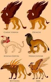 GRYPHON, ANIMAL MYTHIQUE DE L'ALCHIMISTE, MOITIE LION MOITIE AIGLE L'UNION DU LION ET DE LA LIONNE..