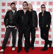 U2: The first band I really fell in love with and am still amazed by. They continue to grow, seek & inspire decade after decade. AWESOME!
