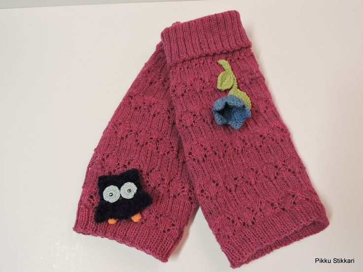 Blue Owl , Bluebell ...and lace legwarmers :)