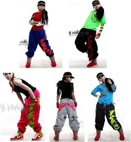 a58975034be36 Hip hop / dance pants women, loose Thin/fleece sports sweatpants for girls,  ...