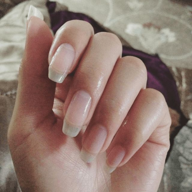 Best 25+ Long natural nails ideas only on Pinterest | Natural ...