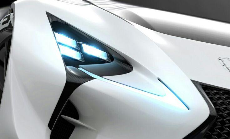 Lexus LF LC GT Vision Gran Turismo Concept