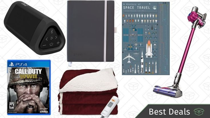 Friday's Best Deals: Call of Duty Dyson V6 Heated Blankets and More