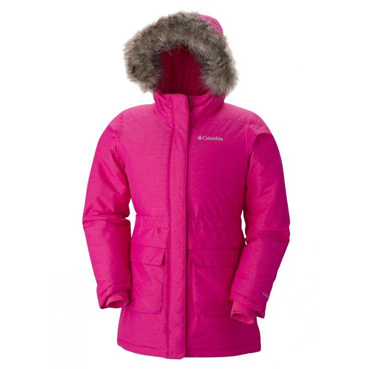 Columbia Girls Nordic Strider Jacket (Groovy Pink