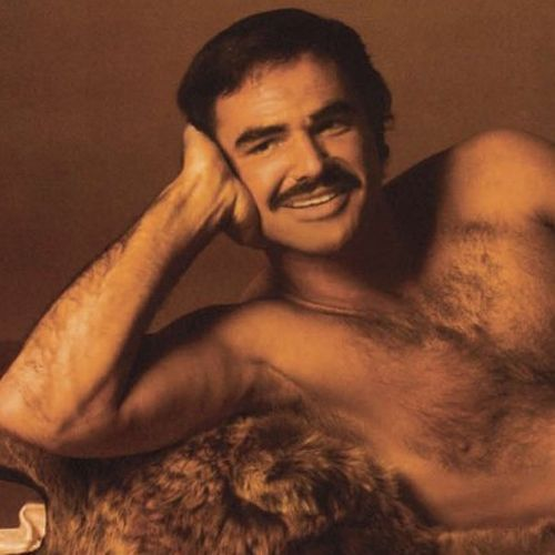It Takes A Lot Of Bloke To Be Comfortable Lying Naked On A Bear Skin Rug
