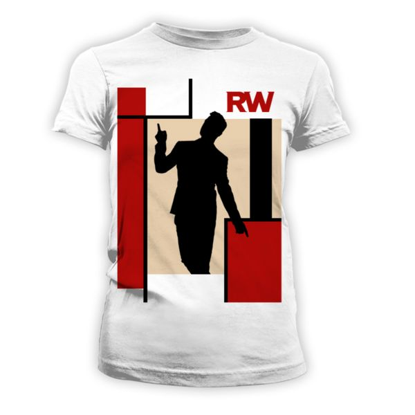 Shop > Ladies' Silhouette T-Shirt | Robbie Williams