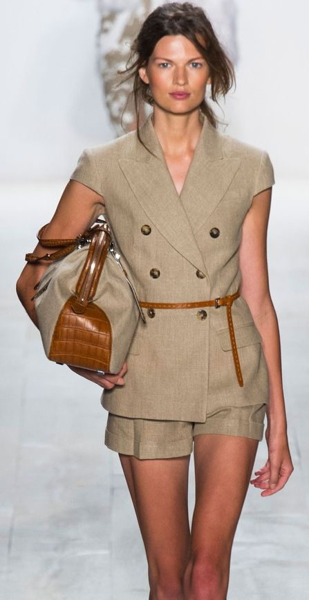 Michael Kors at NYFW Spring 2014