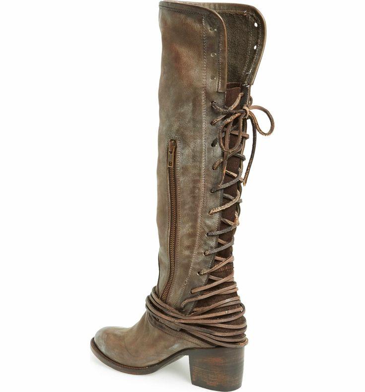 Main Image - Freebird by Steven 'Coal' Tall Leather Boot (Women)