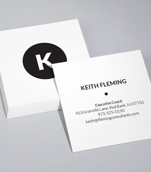 8 best business images on pinterest business card design templates browse square business card design templates colourmoves